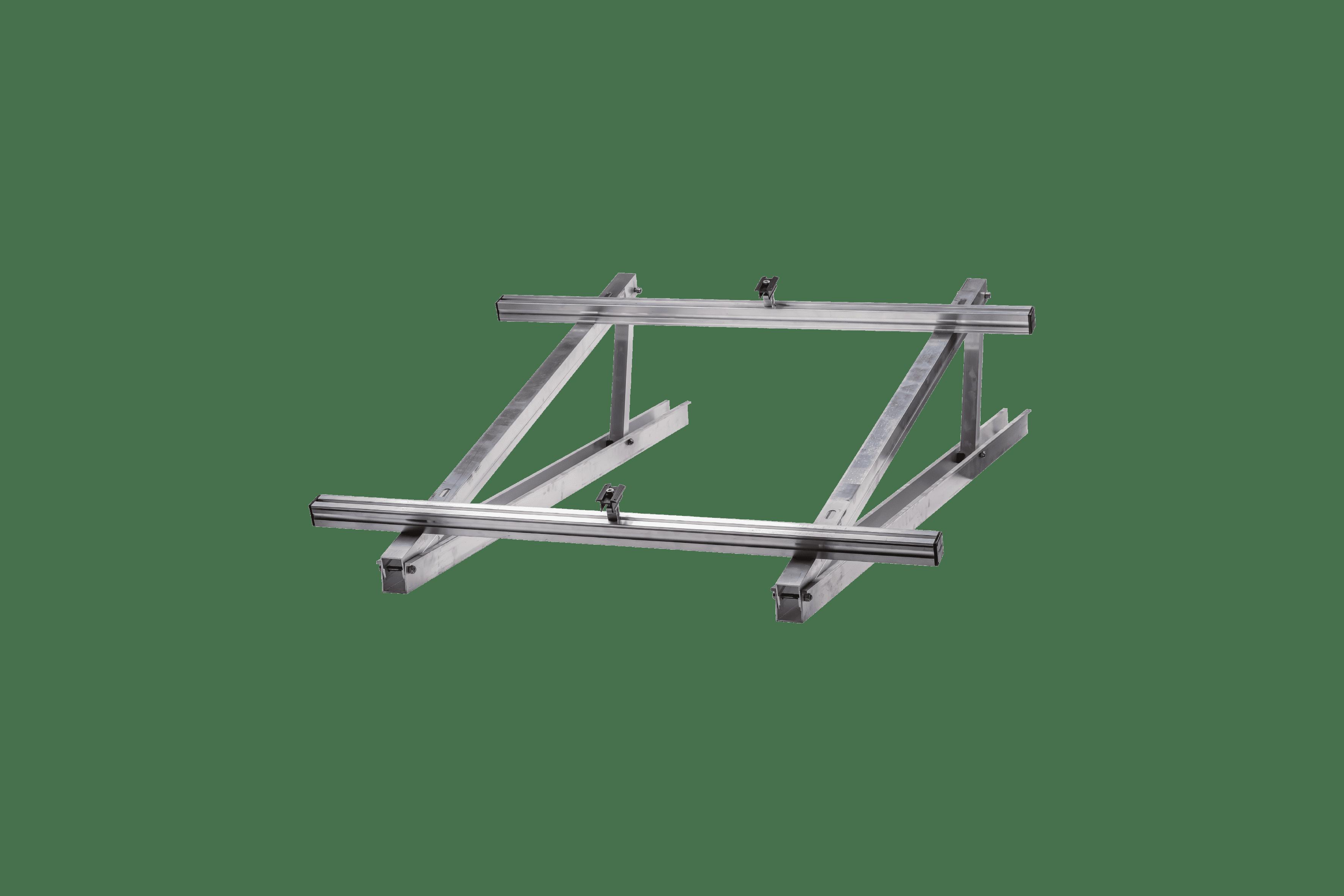 Schletter Kit de fixation toit plat 15° 1x2
