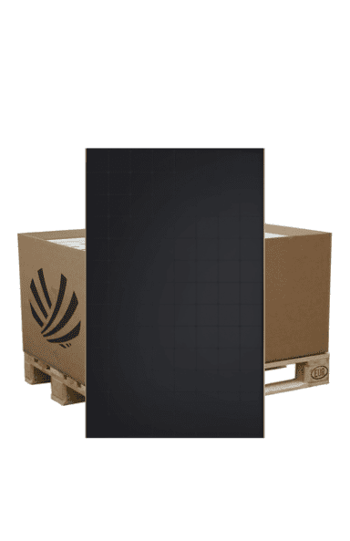 pallet of Sunpower Maxeon 375w solar panels