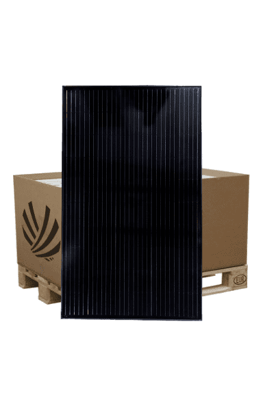 Pallet of the Systovi V-SYS Pro 330Wc solar panel