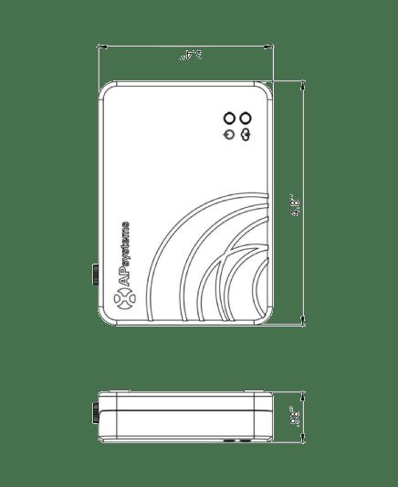 APSystems ECU-R Dimensions