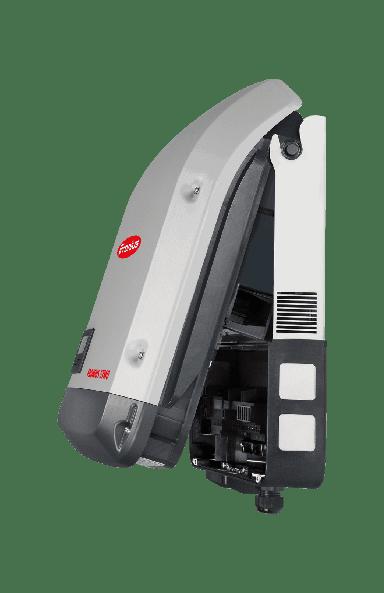The Fronius Symo 3.7-3-M inverter open