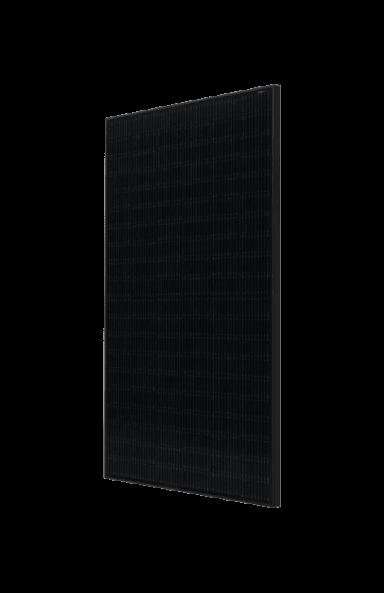LG 375W Solar Panel side view