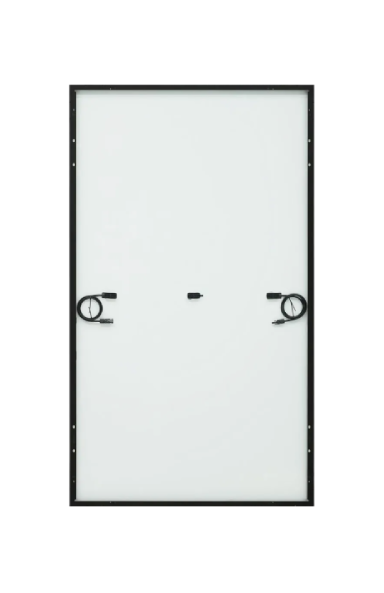 LG 375W Solar Panel back view