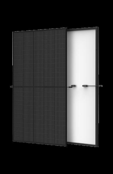 Vue de l'image avant et arrière du panneau solaire Trina Vertex S Mono PERC
