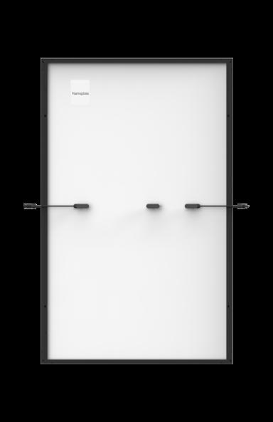 Image de l'arrière du panneau solaire Trina Vertex S Mono PERC
