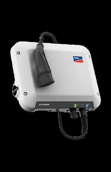 Chargeur EV SMA 1PH 22 kW avec câble de charge