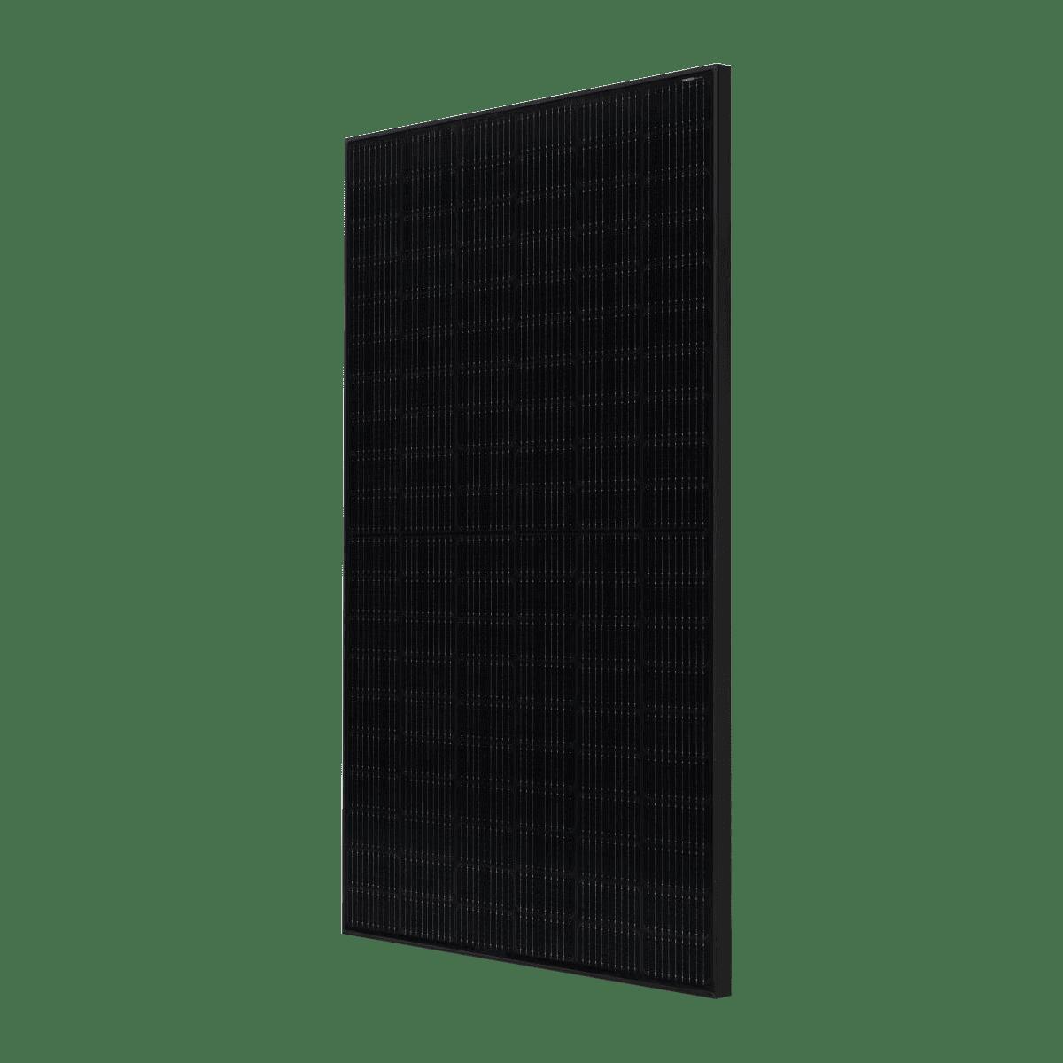 panneaux solaire lg electronics neon h tout noir 370w cote