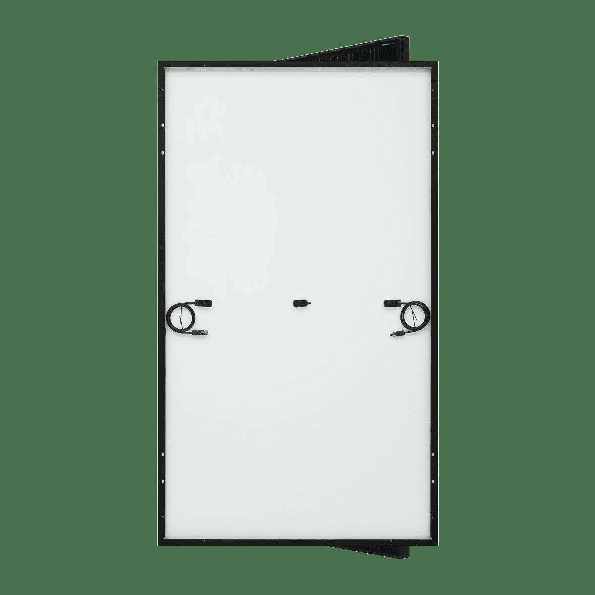 panneaux solaire lg electronics neon h tout noir 370w derriere